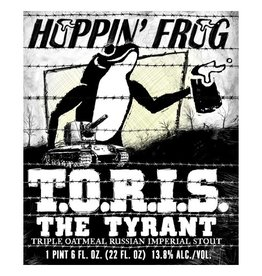 Hoppin' Frog 'TORIS the Tyrant' Triple Oatmeal Russian Imperial Stout 22oz