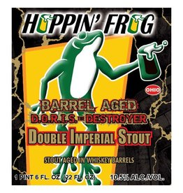 Hoppin' Frog 'Barrel-Aged DORIS The Destroyer' Double Imperial Oatmeal Stout 22oz