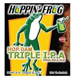 Hoppin' Frog 'Hop Dam' Triple IPA 22oz