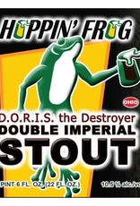 Hoppin' Frog 'DORIS The Destroyer' Imperial Oatmeal Stout 22oz