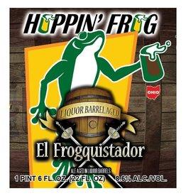 Hoppin' Frog 'El Froquistador' Ale Aged in Liquor Barrels 22oz