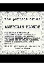 Scheldebrouwerij 'The Perfect Crime - American Blonde' 11.2oz Sgl