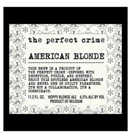 Scheldebrouwerij 'The Perfect Crime - American Blonde' 330ml