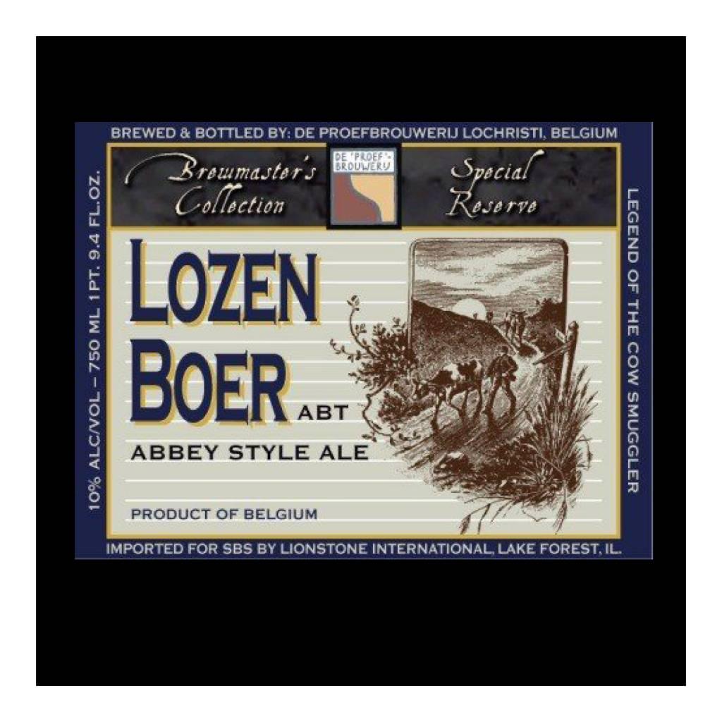 De Proefbrouwerij 'Lozen Boer' Abbey Ale 750ml