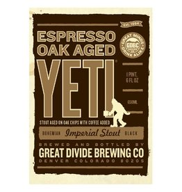 Great Divide 'Espresso Oak Aged Yeti' Imperial Stout 22oz