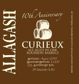 Allagash 'Curieux' Tripel aged in Bourbon Barrels 750ml