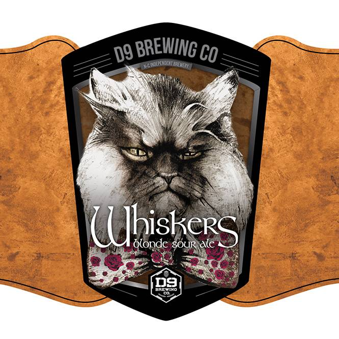 D9 'Whiskers on Kittens' Blonde Sour Ale 12oz Sgl