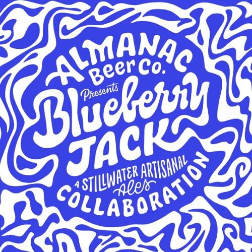 Almanac x Stillwater 'Blueberry Jack' 375ml