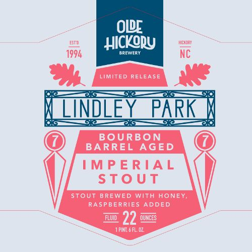 Olde Hickory Brewery 'Lindley Park' 22oz