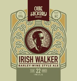Olde Hickory 'Irish Walker 2018 Vintage' Barleywine 22oz