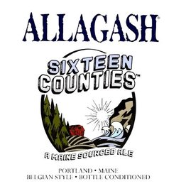 Allagash 'Sixteen Counties' A Maine-Sourced Ale 750ml