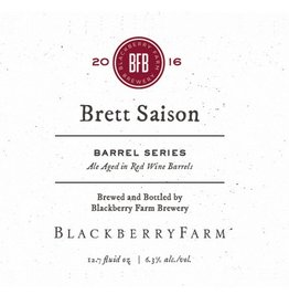 Blackberry Farm 'Brett Saison - Barrel Series' 375ml