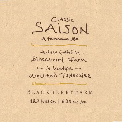 Blackberry Farm 'Classic Saison' 750ml