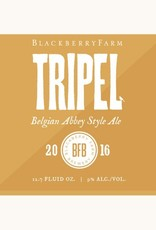 Blackberry Farm Brewery 'Tripel' Belgian Abbey Style Ale 375ml