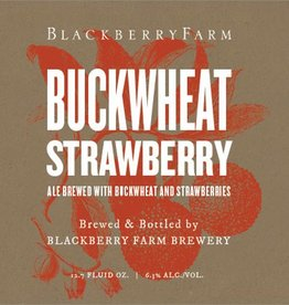 Blackberry Farm 'Buckwheat Strawberry' Wild Farmhouse Ale 375ml