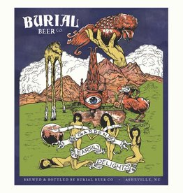 Burial 'The Garden of Earthly Delights' Saison 750mL