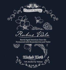 Wicked Weed 'Rubus Viola' Barrel-Aged American Sour Ale 500ml