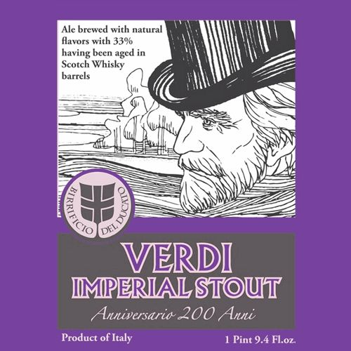 Del Ducato 'Verdi - 200th Anniversary Edition' Imperial Stout 375ml