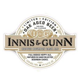 Innis & Gunn 'Hopped Bourbon Cask' Scotch Ale 16oz
