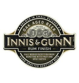 Innis & Gunn 'Rum Finish' Oak Aged Scotch Ale 12oz Sgl