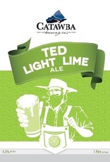 Catawba Farmer Ted Light Lime Ale Case (16oz - Box of 24)