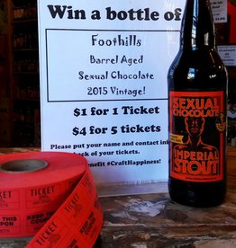 Barrel Aged 2015 Sexual Chocolate Raffle Ticket