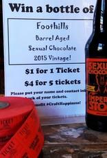 2015 Barrel Aged Sexual Chocolate Raffle Ticket X 5 Tickets