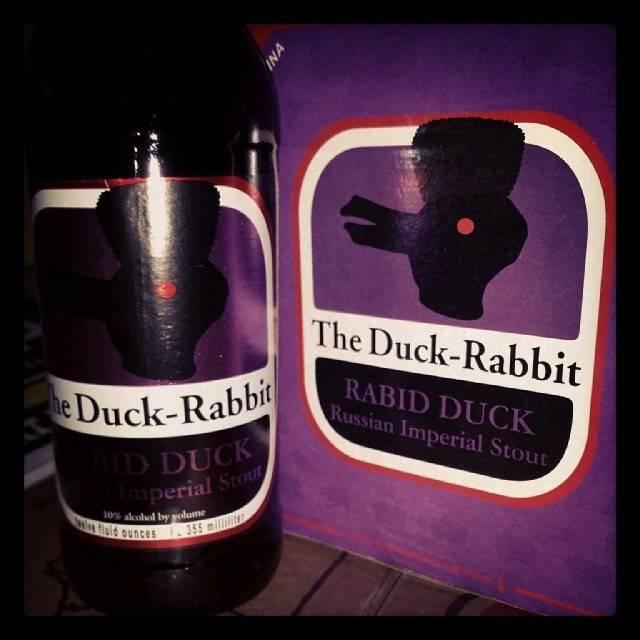 Duck Rabbit 'Rabid Duck' Imperial Stout 12oz Sgl