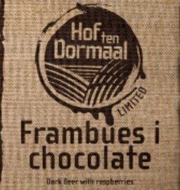Hof Ten Dormaal 'Frambuesa i chocolate' Dark Sour Beer w/ Raspberries 11.2oz Sgl