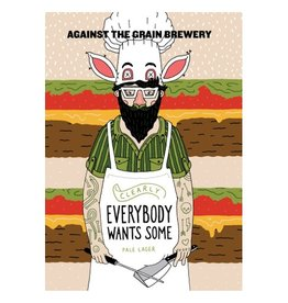 Against the Grain x Hoof Hearted 'Clearly Everybody Wants Some' India Pale Lager 16oz Sgl (Can)