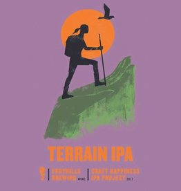 Foothills 'Craft Happiness - Terrain'  IPA 22oz