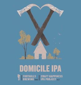 Foothills 'Craft Happiness - Domicile'  IPA 22oz