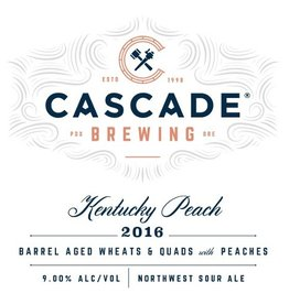 Cascade Cascade 'Kentucky Peach - 2016 Project' Sour Ale 750ml