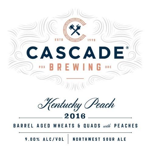 Cascade Cascade 'Kentucky Peach - 2016 Project' Sour Ale 750ml
