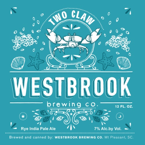 Westbrook 'Two Claw' Rye IPA 12oz Sgl (Can)