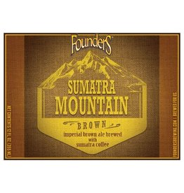 Founders 'Sumatra Mountain Brown' Ale 12oz Sgl