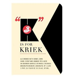 Brooklyn 'K is for Kriek' 750ml