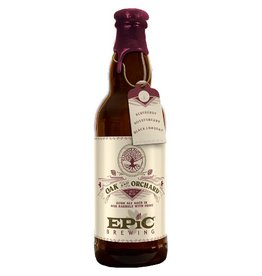 Epic 'Oak and Orchard: The Syrah' Sour Ale aged in Oak Barrels w/ Fruit 375ml