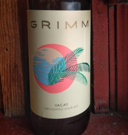 Grimm Artisanal Ales 'Vacay' Dry Hopped Sour Ale 22oz