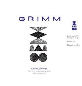Grimm Ales Grimm 'Candlepower' Farmhouse Ale 22oz