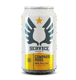 Service Compass Rose IPA Case (12oz - Box of 24)