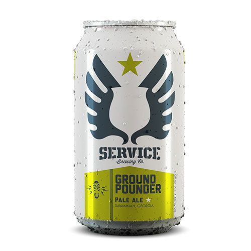 Service Ground Pounder Pale Ale Case (12oz - Box of 24)