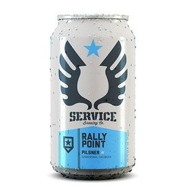 Service Rally Point Pilsner Case (12oz - Box of 24)