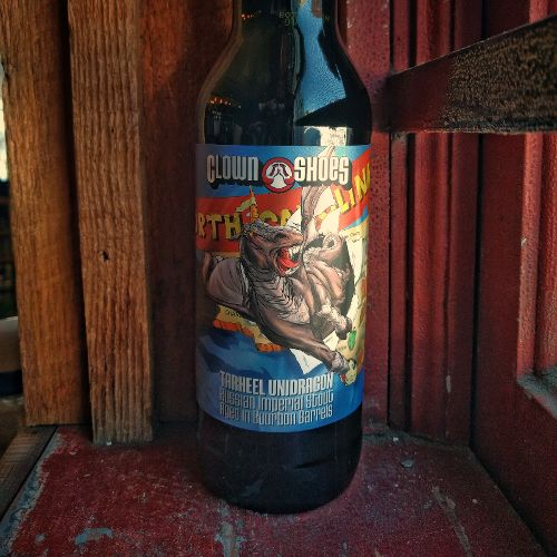 Clown Shoes 'Tarheel Unidragon' Russian Imperial Stout aged in Bourbon Barrels 22oz