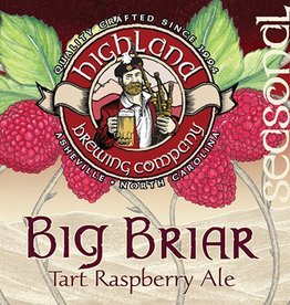 Highland 'Big Briar' Raspberry Ale 12oz Sgl