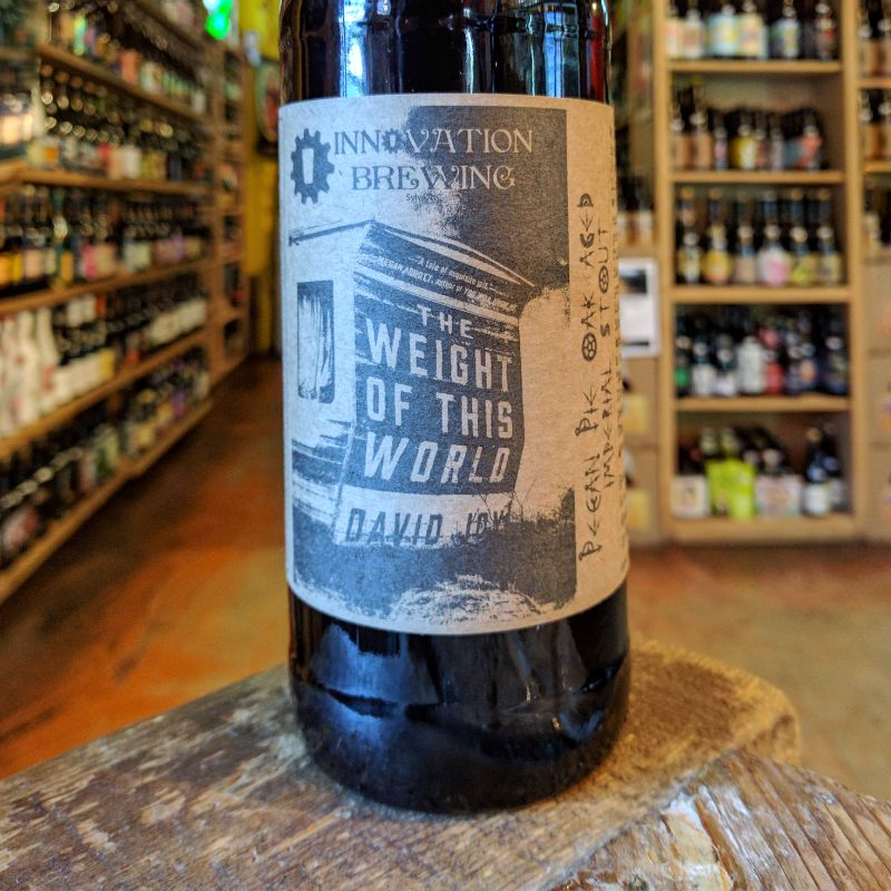 Innovation 'Weight of This World' Pecan Pie Oak Aged Imperial Stout 22oz