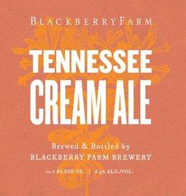 Blackberry Farm 'Tennessee Cream Ale' Wild Farmhouse Ale 750 ml