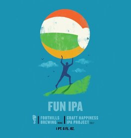 Foothills 'Craft Happiness - Fun'  IPA 22oz