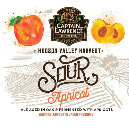 Captain Lawrence 'Sour Apricot' Ale aged in Oak 375ml