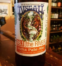 Pisgah '98.1 The River' IPA 22oz